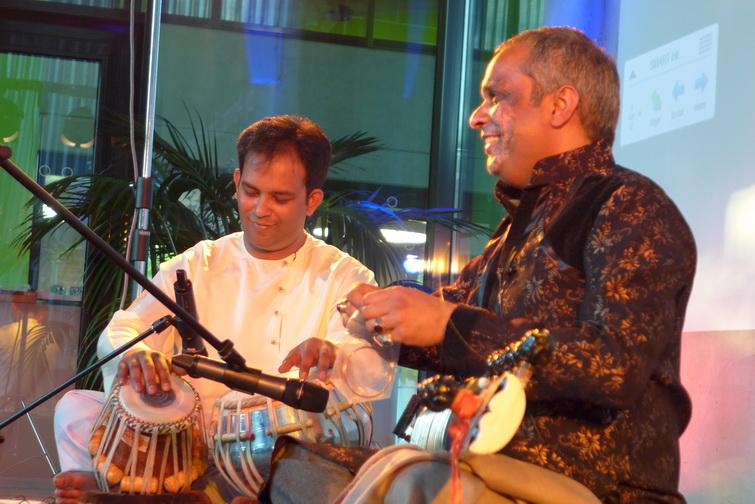 Ashraf Sharif Khan and Shahbaz Hussain